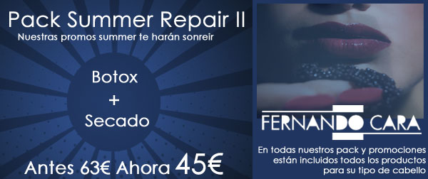Pack Summer Repair II Botox - Fernando Cara